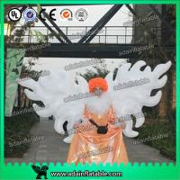 Quality White Parade Inflatable Wing With Led Lighting 2m/3m Customized For Event Decoration for sale