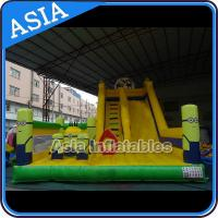 Quality Minions Commercial Inflatable Bouncer For Sale / Inflatable Minions Bouncer Slide for sale