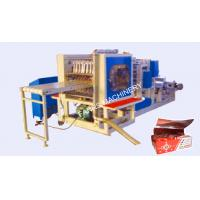 Quality Full Automatic Inter Fold Aluminum Foil Machine , three phase pneumatic expansion shaft for sale