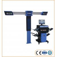 Quality Accurate 3D Wheel Alignment Machine Measure Wheel Angles 110-220V With 4 Cameras for sale