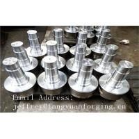 Quality 17CrNiMo6 31CrMOV9 Alloy Steel Forged Shaft  Heat Treatment And Machined for sale