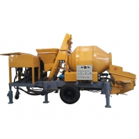 Quality Portable C3 8mpa Trailer Mounted 85L Concrete Mixing Pump for sale