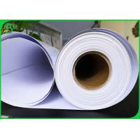 Quality High Glossy Cardboard Paper Roll , 150gsm 190gsm 200gsm Coating Printing Parchment RC Photo Paper for sale