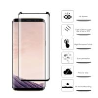 Quality PET HD 3d Curved Samsung Galaxy Screen Protector Highly Transparent OEM for sale