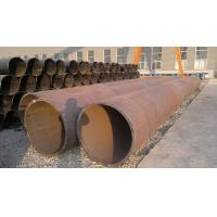 Quality Black Painted LSAW / ERW Welded Steel Pipe , Seamless Carbon Steel Pipe For Construction for sale