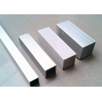 China Mill Finish 0.7mm Silver Standard Aluminium Extrusion Profiles on sale