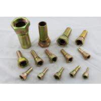 Quality 37° Cone Seat SAE J514 JIC Female Hose End Hydraulic Fittings And Adapters for sale