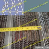 Quality Double Balanced weave belt/heavy load conveyor mesh belt for sale