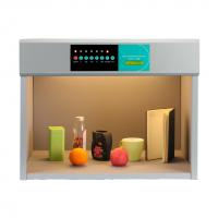 Buy B6006 Metal color assessment cabinet with D65/TL84/TL83/CWF/UV/F color light box at wholesale prices
