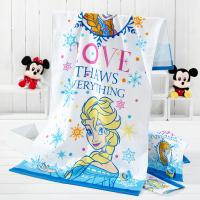 Quality Disney Princess Cotton Printed Beach Towels Reactive Dyes Bright Easily Absorbed for sale