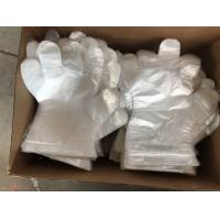 Quality Embossed Disposable Plastic Gloves For Medical Checking / Food Handling for sale