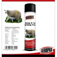 Buy Eco Friendly Marking Spray Paint , Fast Drying Pig / Cattle / Sheep Marking Paint at wholesale prices