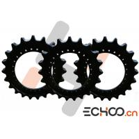 Quality Steel SK210-8 Double Roller Chain Sprockets , Black Kobelco Excavator Parts for sale