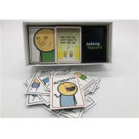 360pcs Joking Hazard Card Games For Large Groups Portable Laminated Type