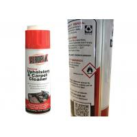 Quality Non Irritating Car Care Products , All Purpose Foam Cleaner For Velour Seats for sale