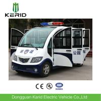 Quality 8 Seats Enclosed Electric Pick Up Car With Alarm Lamp Suits For City Walking Street for sale