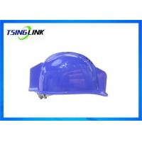 Quality Durable 4G Video Transmit Smart Safety Helmet Bluetooth For Construction Site for sale