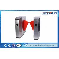 China Access Control Alarm Flap Barrier Gate High Speed Retractable For Metro on sale