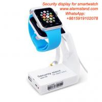 Quality COMER  for mobile phone accessories stores alarm smart watch security display holders for sale