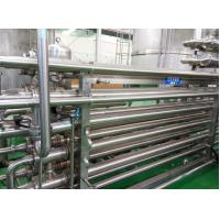 Buy cheap 143℃ SUS316L High Temperature Sterilizer Tubular UHT Pasteurizer 3mm Thick from wholesalers