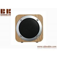 Quality Fashion Festival Gift Magnetic Horn Shock Bass Portable Wireless Wooden Bluetooth Speaker for sale