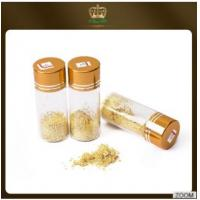 Quality No expire date bakery alcohol dishes decoration Ingredients 24k edible gold flakes Content Gold 99% for sale