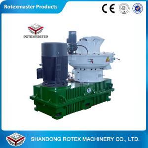 Quality Automatic Lubrication Biomass Wood Pellet Machine , Wood Pellet Maker for sale