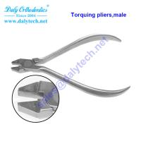 China Torquing pliers , male of dental products from orthodontic instruments list on sale
