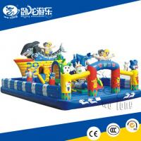 Quality hot sale inflatable bouncer, inflatable castle with slide for sale