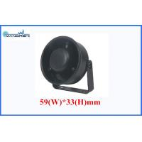 Buy Black 6V 12V 24V Piezo Alarm Waterproof , Siren 105dB Motorcycle Siren at wholesale prices