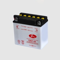 Quality 12 Volt 6.5Ah Lightweight Motorcycle Battery Dry Charged for sale