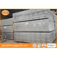 China Good loading capacity 4000mm scaffolding galvanized steel planks for scaffolding projects on sale
