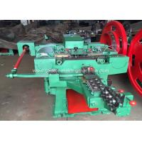 Quality Automatic Wire Nail Making Machine 220 pcs/Min Low Noise Nail Production Line for sale