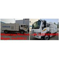 Quality customized YIQI FAW brand 4*2 RHD diesel road sweeping truck for sale, Factory wholesale price  street sweeper for sale