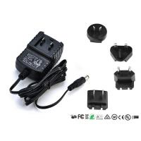 Quality EN60065 EN60950 Interchangeable Power Adapter Detachable Plug 9V 0.5A 1A 1000mA for sale