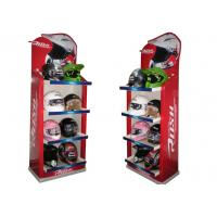 Buy Cardboard Floor Displays cases ENFD005   Store  for Helmet with matt lamination   at wholesale prices