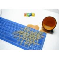 Quality Flexible Silicon USB Spillproof Keyboard for sale