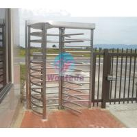 Quality Full Height Turnstile Security Semi-Automatic / Manual RFID Aceess Turnstile for sale