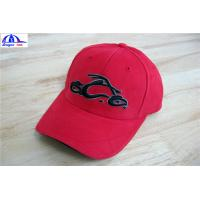 Cool Custom Racing Baseball Caps , Embroidery Custom Fitted Caps For Youth