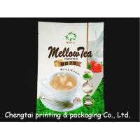 Quality Aluminum Coffee Packaging Bags Food Grade Stand Up Pouch With Tear Notch for sale