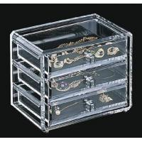 Quality Quick Delivery Acrylic Jewelry Box With customer's Logo for sale
