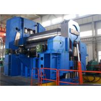 Quality 4 Roller Plate Bending Rolling Machine , 3 Roller Plate Bending Machine for sale