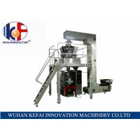 Quality KEFAI Automatic Grade Weighing Granuel Pouch Chips Packing Machine for sale