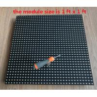 Quality 1FT X 1FT P9.525mm Smd Front Service Led Display Rgb Brightness 8500 Nits for sale