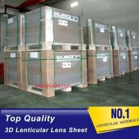 Quality 20 LPI 3mm 120x240 lenticular flip sheet forlarge format 3D lenticular printing with Flip effect printing Canada for sale