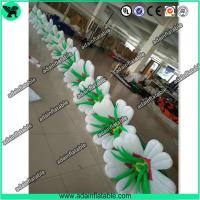Quality High Quality Inflatable Lily Flower Rope,Inflatable Flower Line,Event Inflatable Flower for sale
