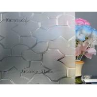 Quality 3mm to 8mm Karatachi Patterned Glass, Rolled Glass, Figured Glass with Certificate ISO and BV for sale
