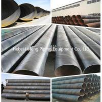Quality ASTM A554 ERW 316l spiral welded steel pipe for sale ASTM A53 BS1387 BLACK ERW WELDED STEEL PIPE for sale