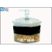 Quality Single / Double Layer Fish Tank Water Filter With Medical Stone And Biochemical Cotton for sale