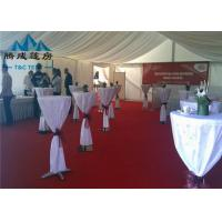 Quality Clear Span Transparent Outdoor Event Tent , Aluminum Frame Large Tents For Weddings for sale